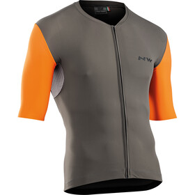 Northwave Extreme Short Sleeve Jersey Men, dusty olive/orange